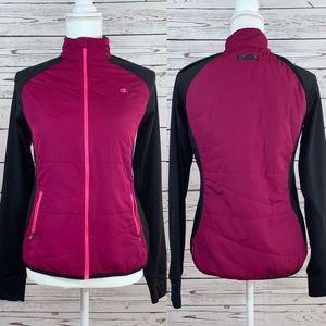 Champion zip up track jacket Fuchsia / magenta